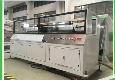 China Wall Cladding Board UPVC Extrusion Machine , 300mm Board Profile Extrusion Line supplier