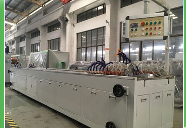 China UPVC / PVC Plastic profile Extruder Machine For Roofing Junction Box WEG Motor supplier
