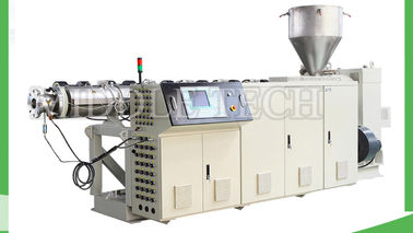China High Output Plastic Extrusion Machine , PE / HDPE Dough Extruder Machine supplier