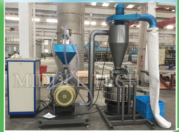 China Water Cooling Plastic Auxiliary Machine , PP Pellets Plastic Pulverizer Machine supplier