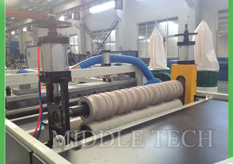 China Co - Extruder Roof Tile Forming Machine , Glazed Manual Roof Tile Making Machine supplier