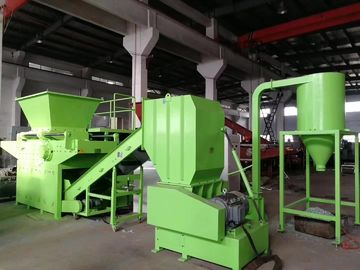 China PE Pipe Plastic Recycling Extruder Machine , Non Metal Plastic Crusher Machine supplier