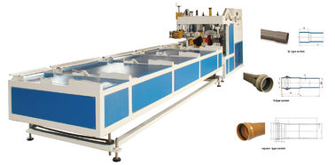 China R Type Gasket Mould Plastic Pipe Belling Machine PLC Control Double Oven Heating supplier