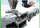China High Efficiency Tube Extruder Machine , Single Cavity PVC Profile Extrusion Machine factory