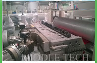 China ABS Corrugated Roofing Machine , Calibration Roof Tile Manufacturing Machine factory