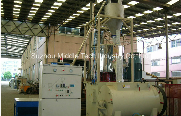Automatic Plastic Mixer Machine High Speed Stainless Steel 304 Material