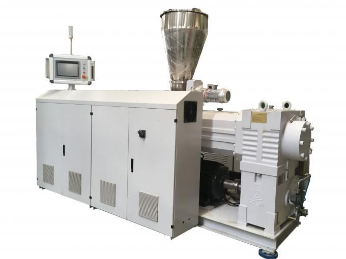 Door Board Double Screw Extruder Machine , Bimetallic Filament Extruder Machine