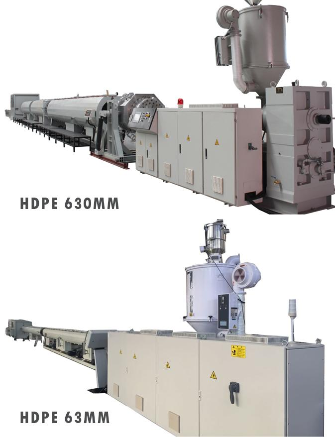 High Performance Plastic Pipe Extrusion Machine Rapid With One Srew Grey Color