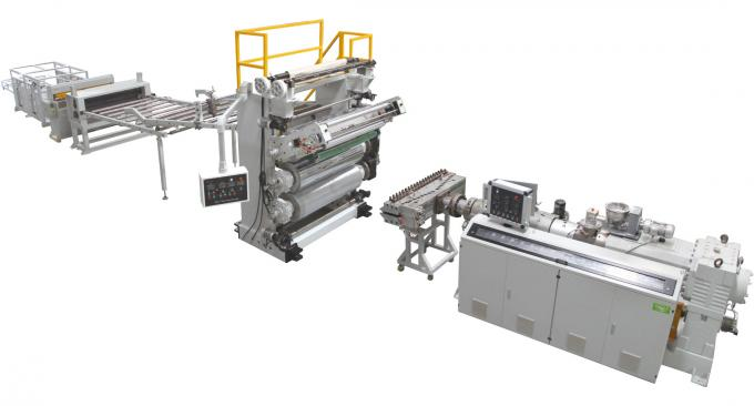 High Performance Sheet Extrusion Line For Imitation Marble Sheet / Board