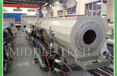 315 - 630mm Plastic Water Pipe Making Machine High Precision 300 Kg / Hr Speed