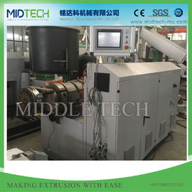 12 / 15 M PVC Pelletizing Machine , High Rotary Mould Plastic Pellet Extruder