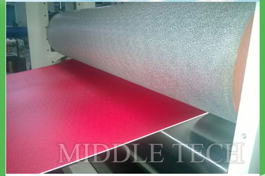 Hollow UPVC / PVC Roof Tile Machine T - Die Molding For Colored Wave Roof