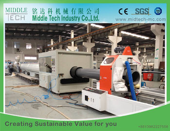 Single Oven Plastic Pipe Belling Machine , High Speed Automatic Socketing Machine