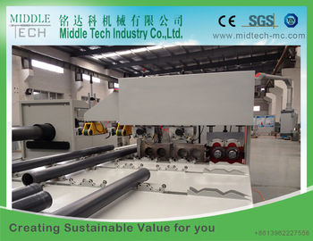 Double Oven Plastic Pipe Belling Machine , Water Cooling PVC Pipe Belling Machine