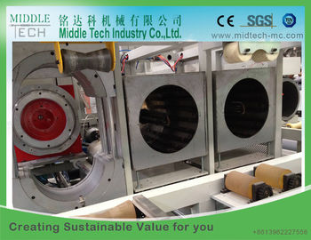 Rectangle Mould Plastic Pipe Belling Machine For PVC Pipe SGK 160 Model Single Oven