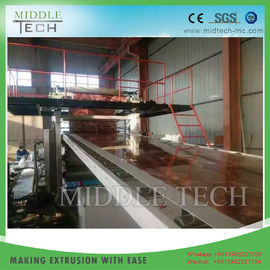 Plastic PVC Sheet Extrusion Line For Stone Coating Sheet / Board 1220 Model